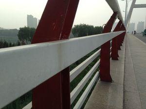 新河路岔河大桥围栏